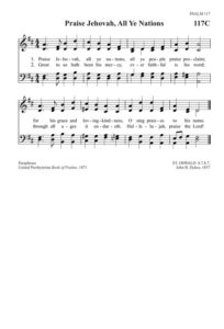 Hymnal 117c